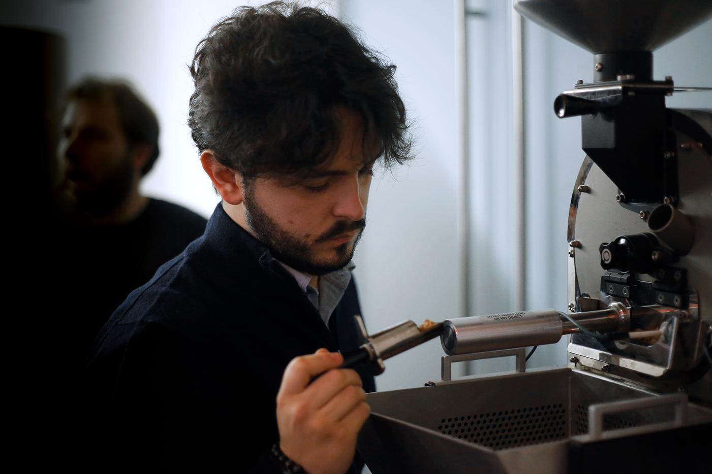 Davide Roveto trainer Mumac Academy e Owner Caffè Cognetti